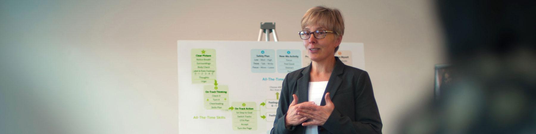 Julie Brown Training Session